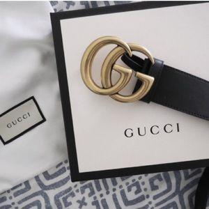 oNew Gucci Belt Äüthéntíć Double G Marmot